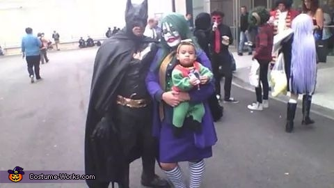 batman,joker,robin , Batman Family Costume