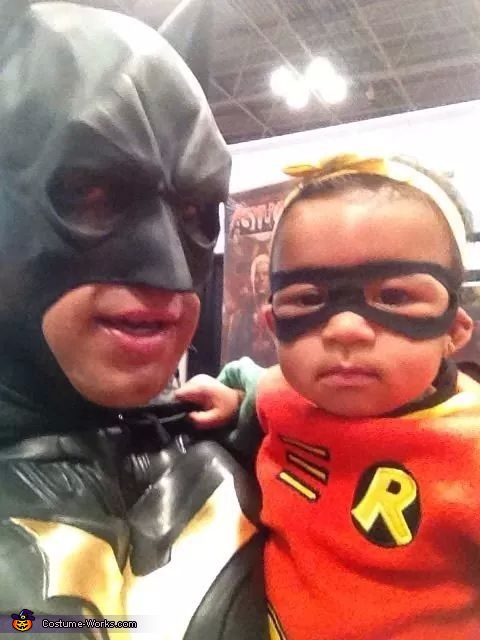 im batman,and im robin, Batman Family Costume