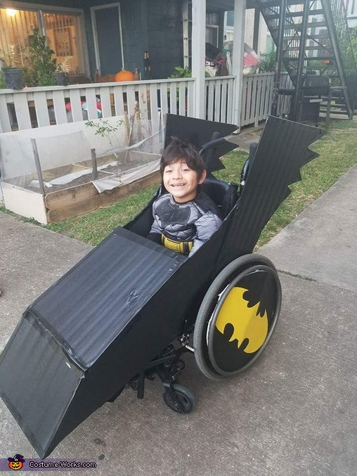 Batman & Batmobile Homemade Costume