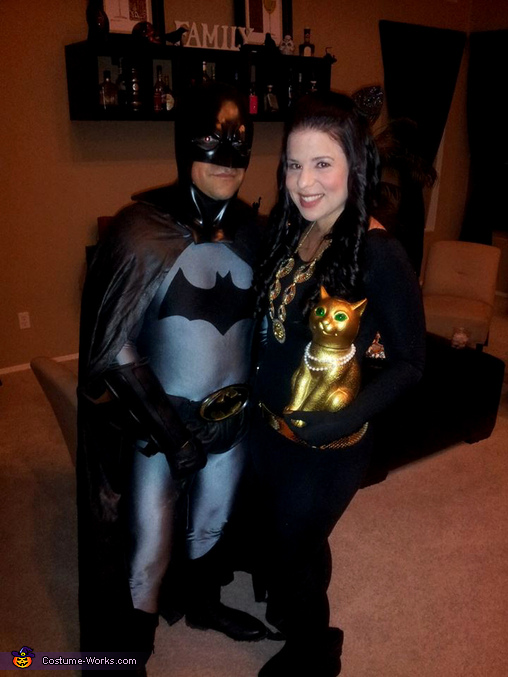 Batman & Catwoman Couple Costume