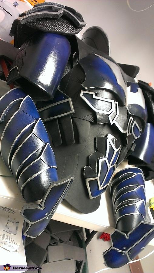Batman Play Arts Kai Homemade Costume