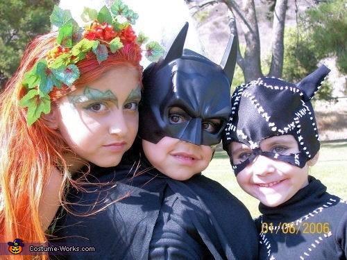 Batman, Poison Ivy & Catwoman, Batman, Poison Ivy & Catwoman Costume