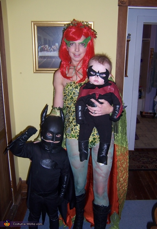Batman, Robin and Poison Ivy Costume