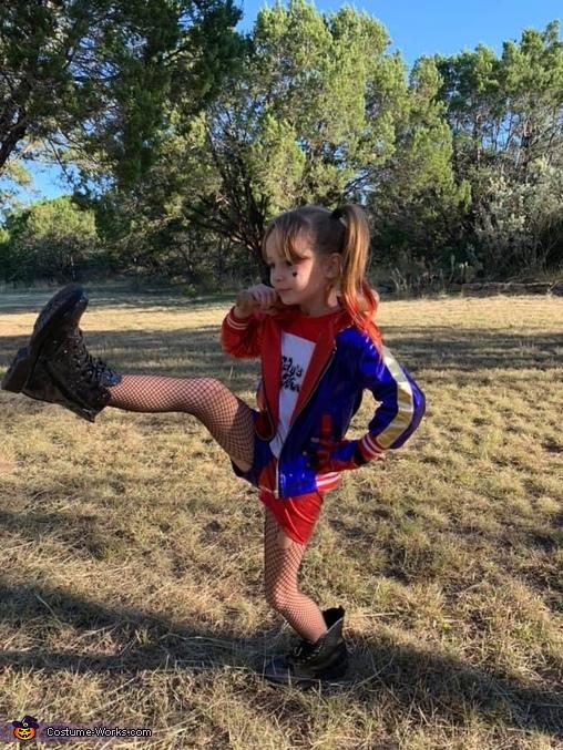 Alma, 7, Harley Quinn, Batman Villains Costume