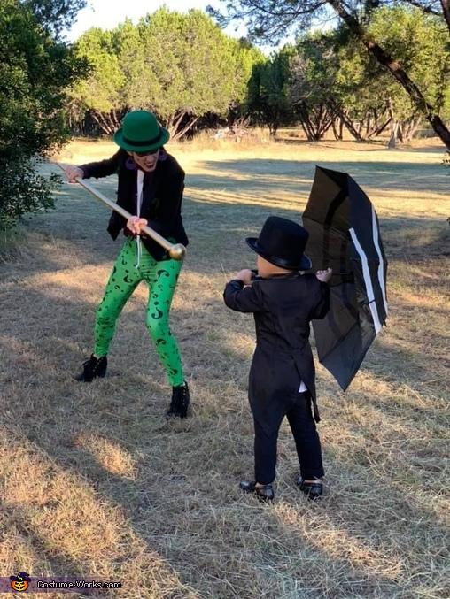 Riddler vs The Penguin, Batman Villains Costume