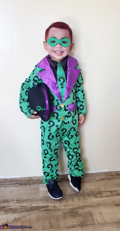Riddler, Batman Villains Costume