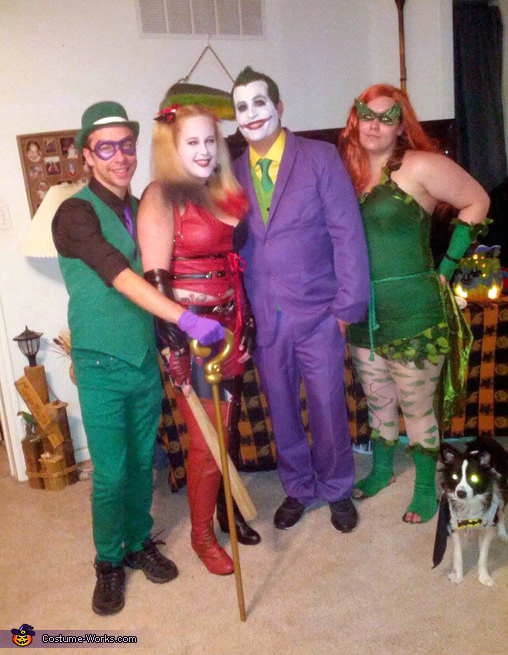 Batman Villains Group Costume