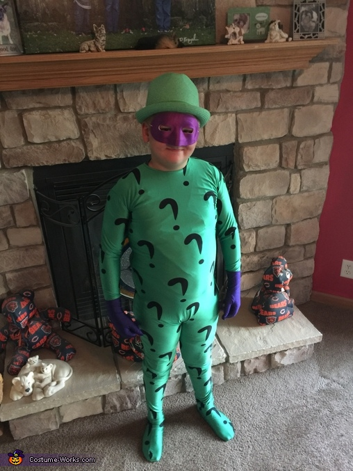 Riddler, Batman Villains Family Costume