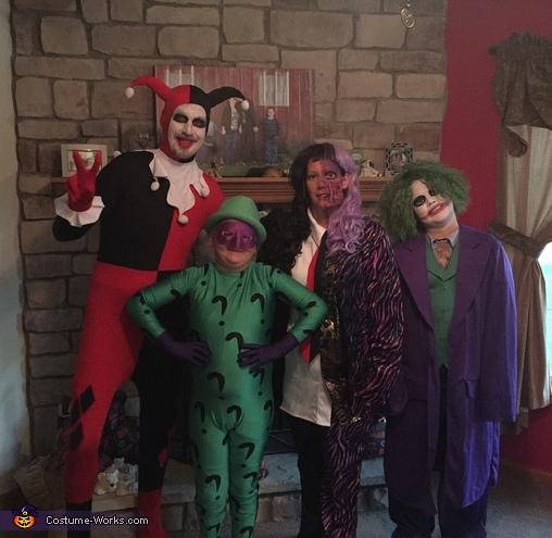 Batman Villains Family Costume