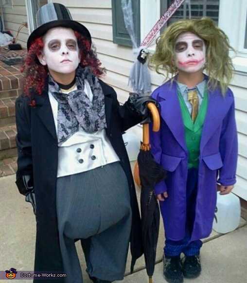 Batman Villains: Penguin and Joker Costume