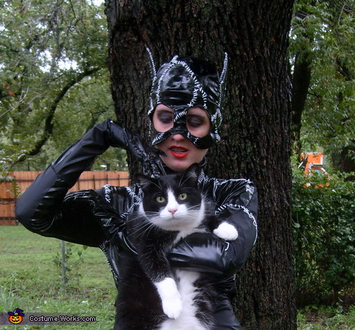 Here Kitty Kitty, Batman's Catwoman Costume