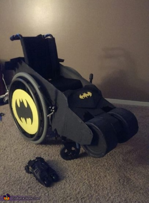 Batmobile Homemade Costume