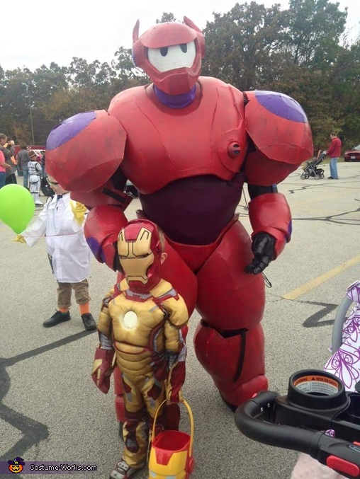 Trunk or Treat!, Baymax Costume