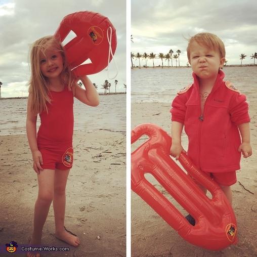 Baywatch Kids Costume