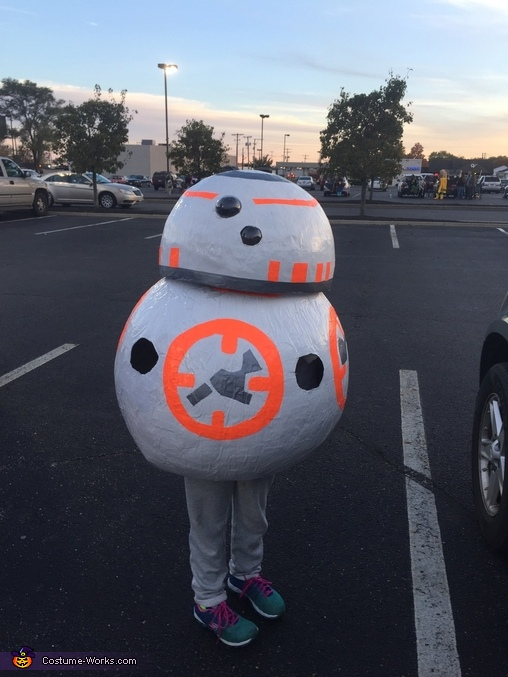 BB-8 Homemade Costume