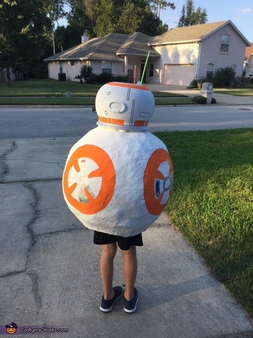BB8 back, BB-8 Costume