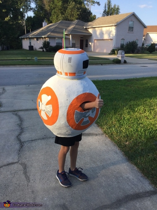 BB8 side 2, BB-8 Costume