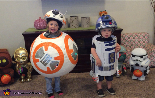 BB-8 and R2-D2 Costume