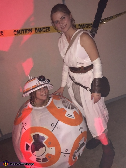 BB-8 and Rey Costume