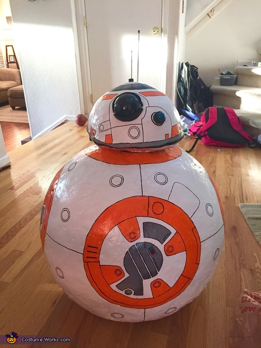 BB-8 Boy Homemade Costume