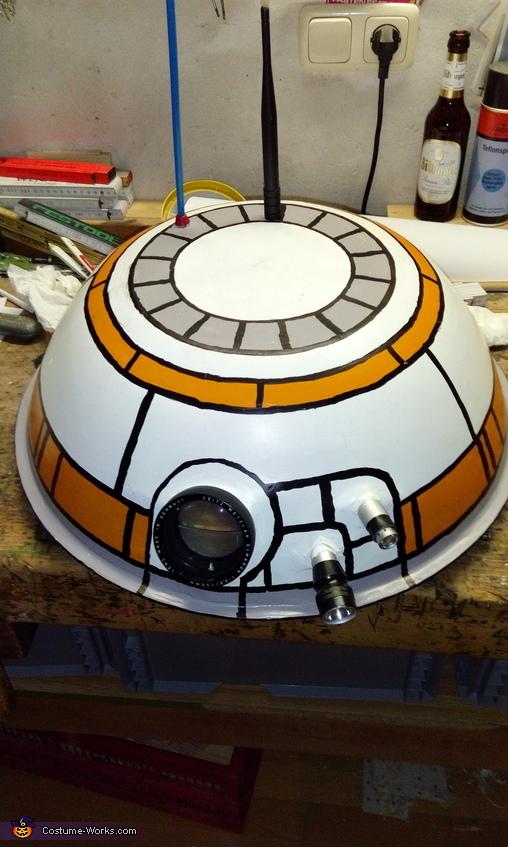 BB-8 Star Wars Homemade Costume