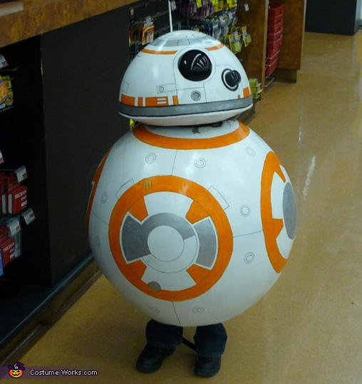 Star Wars The Force Awakens BB-8 Costume