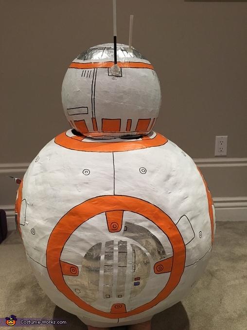 back BB8, BB8 Costume