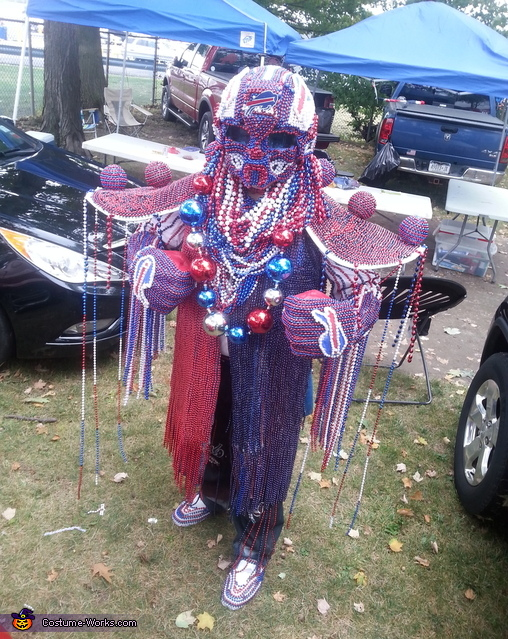 Beadman Costume
