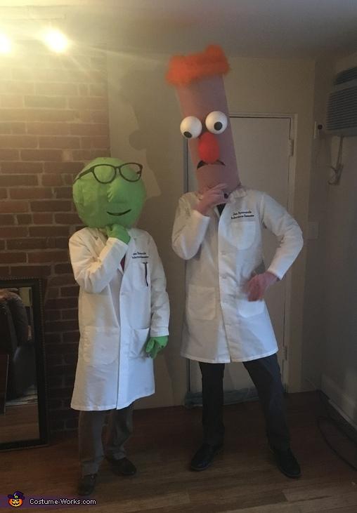 Beaker & Dr. Bunsen Honeydew Costume