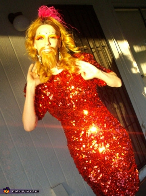 Bearded Lady - Homemade costumes for women