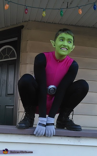 Beast Boy from the Teen Titans Costume