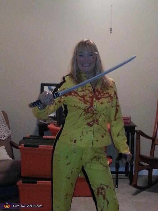 Beatrix Kiddo Homemade Costume