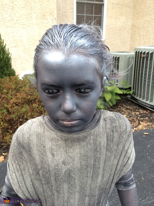 Don't Blink!, Beautiful Weeping Angel Costume