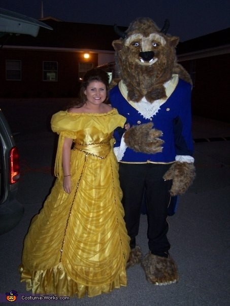 Beauty and the Beast Couple Costume