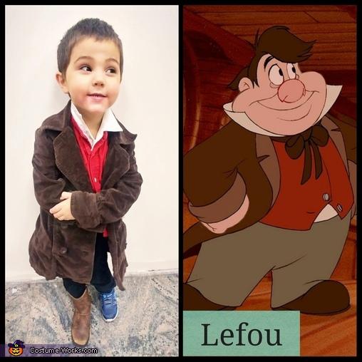 Lefou, Beauty and the Beast Costume