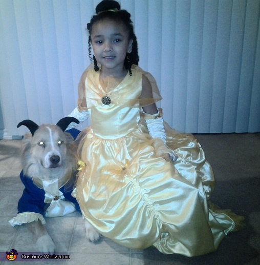 my Belle, Beauty and the Beast Costume
