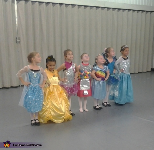 dance class, Beauty and the Beast Costume