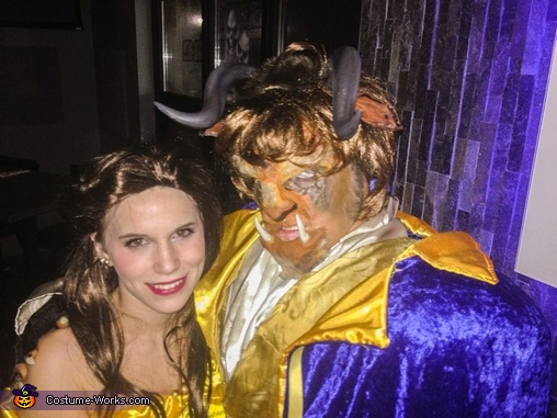 BeautyBeast 2, Beauty and the Beast Couple Costume