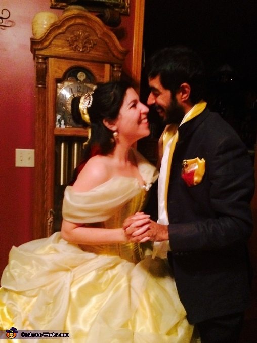 My Prince and I, So lucky he puts up with me :), Beauty and the Beast Costume