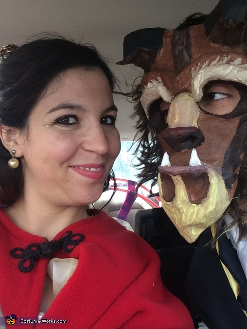 Royal Selfie, Beauty and the Beast Costume