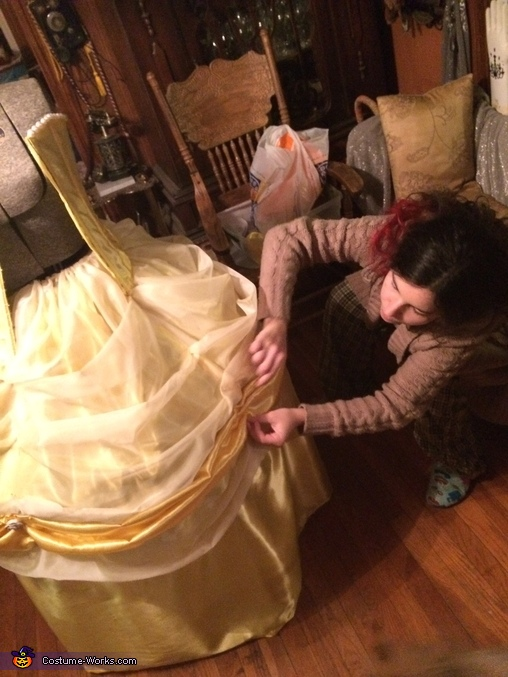 Ta Da!, Beauty and the Beast Costume