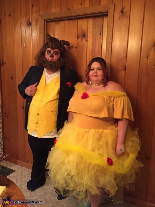 Beauty And The Beast Couple Halloween Costume Diy Costume Guide