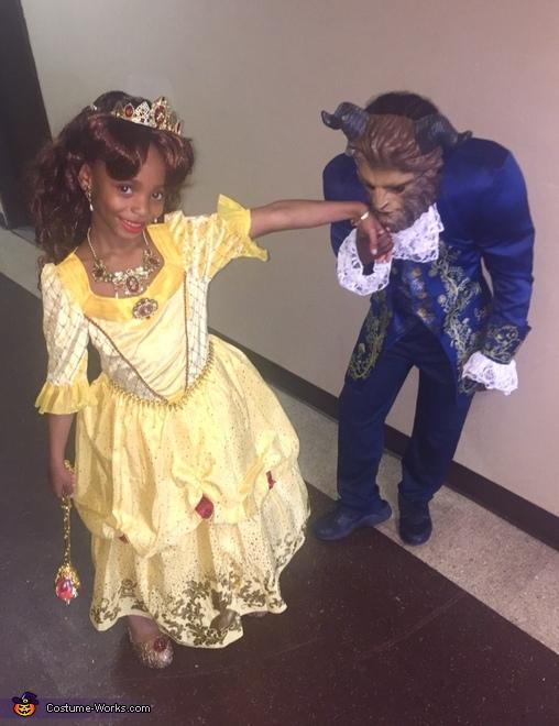 I rather have a beast treat me like the princess I am., Beauty and the Beast Costume