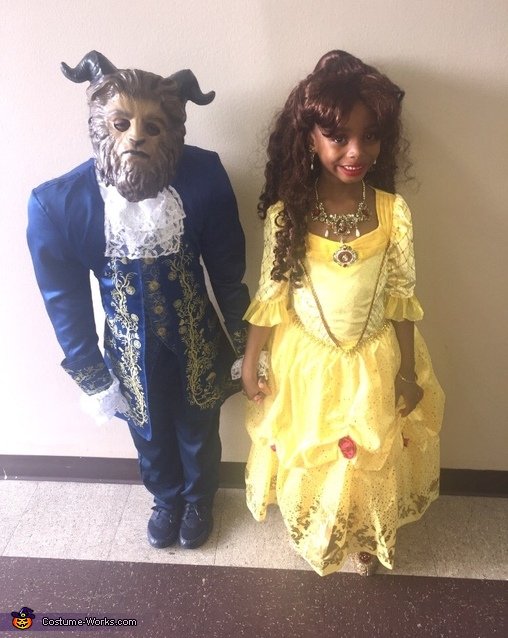 Beauty and the Beast reunited, Beauty and the Beast Costume