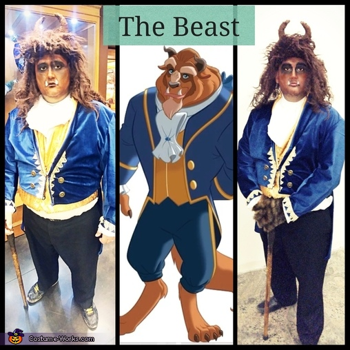 The Beast, Beauty and the Beast Costume