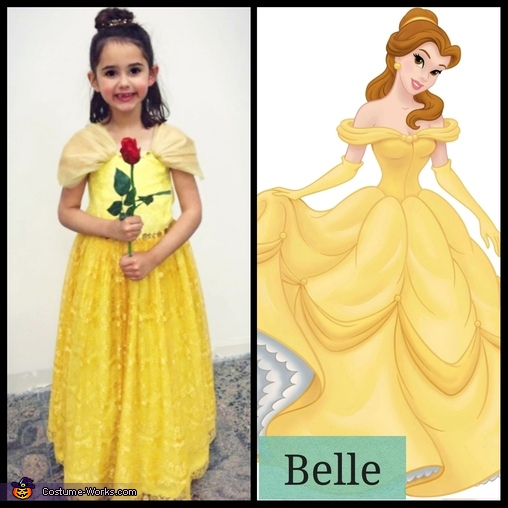 Belle, Beauty and the Beast Costume