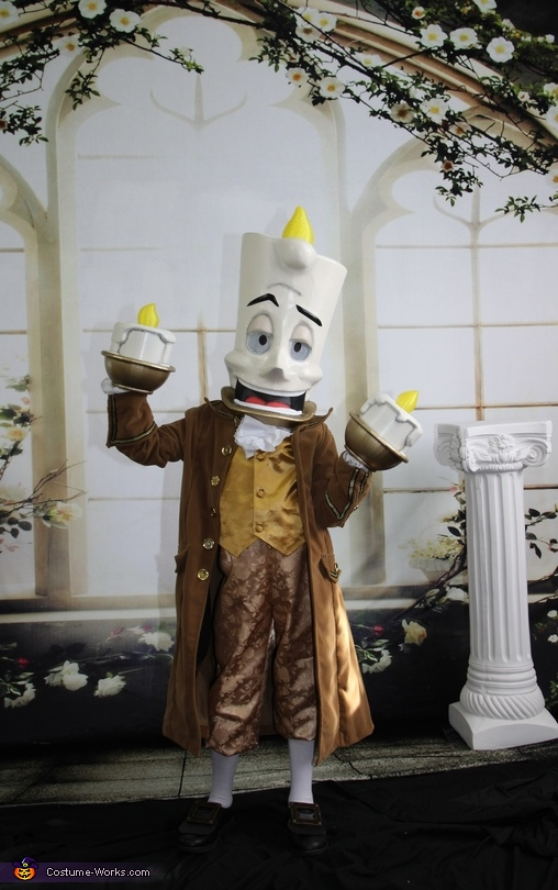Beauty and the Beast Lumiere Costume