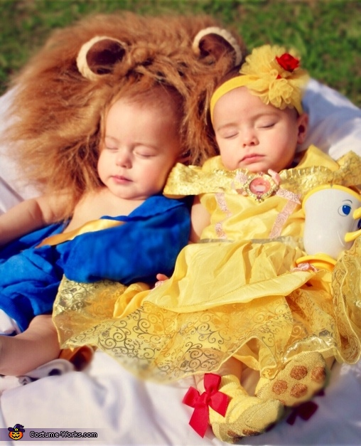 f7dea8c7d05a1 Beauty and the Beast Twins Baby Costume