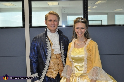 Adam and Belle2, Beauty and the Beast with Lumiere Costume