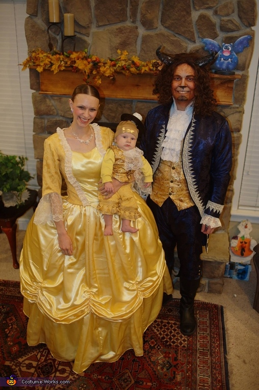Beauty and the Beast, Beauty and the Beast with Lumiere Costume